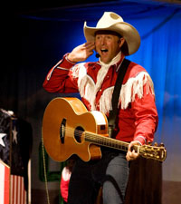 Singing Cowboy, Click to View Larger Image